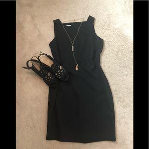 Elegant Liz Claiborne Black Sz 8 cocktail dress